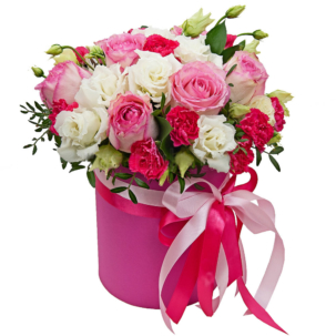 """Цветы в коробке """"Аврора"""""""