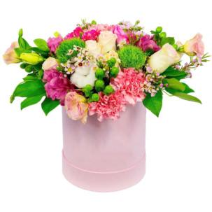 """Цветы в коробке """"Блеск"""""""
