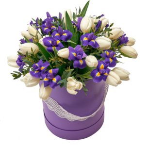 """Цветы в коробке """"Танец бабочек"""""""